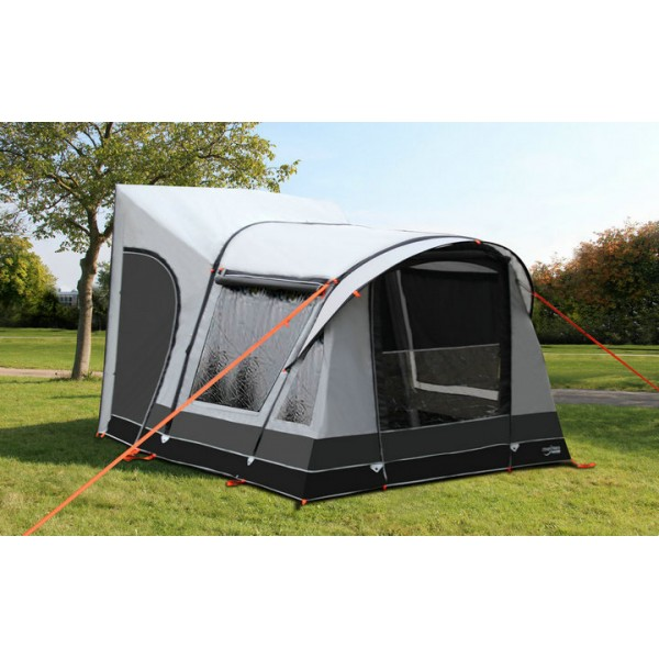 Motoair Inflatable Tube Awnings On Road Rv